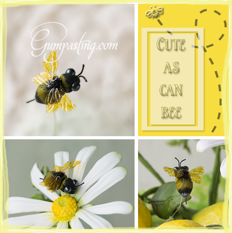 {How to Create a Gumpaste Bumble Bee}