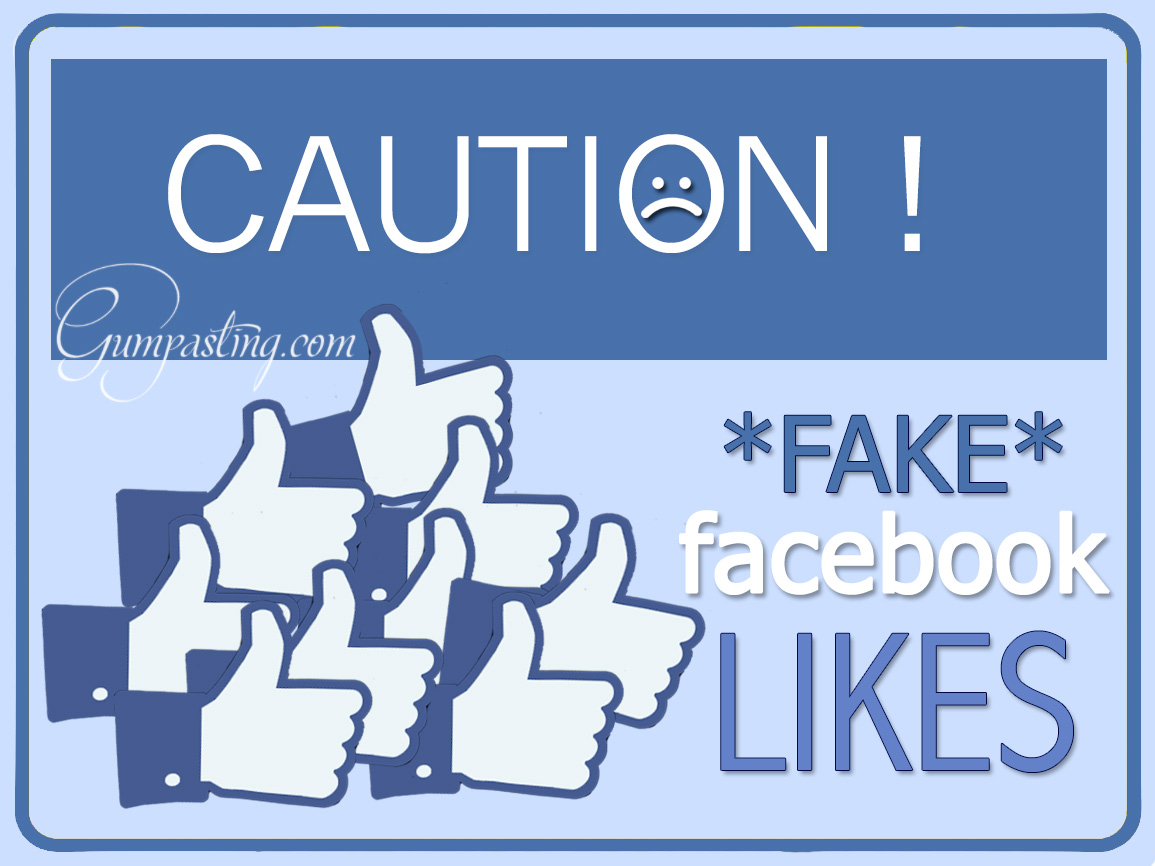{Caution Sign For Fake Facebook Fans}